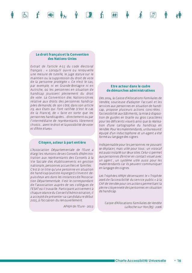 Charte Accessibilité Universelle • 18  Se loger, selon son choix de vie : un droit universel  L'accessibilité universelle ...