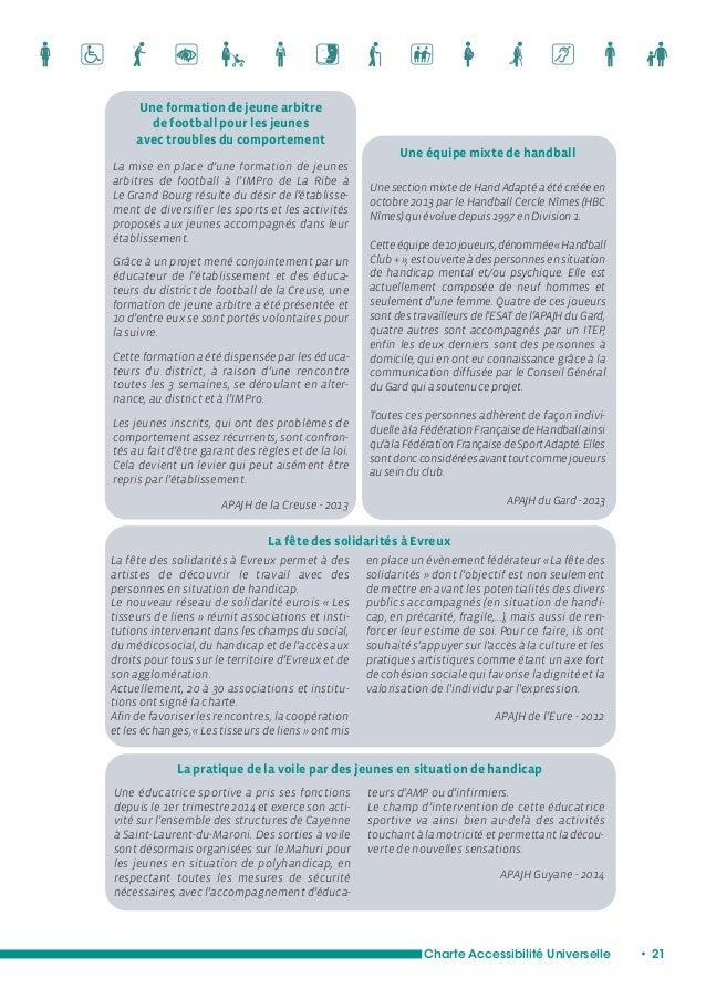Charte Accessibilité Universelle • 23  L'accès aux soins  Au-delà des questions de déserts médicaux, de  files d'attente, ...