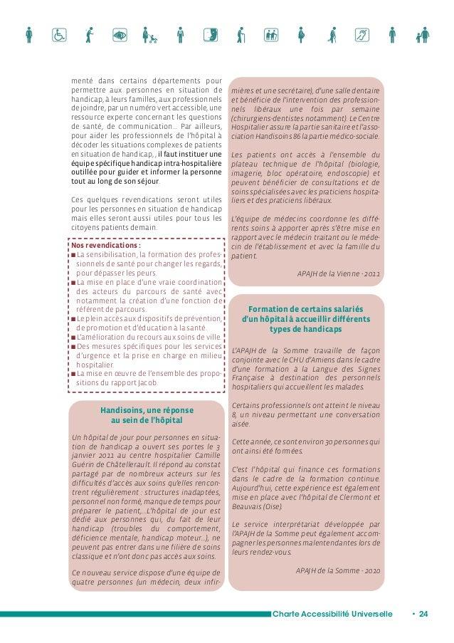 L'accès à une vie affective, à l'intimité et à la sexualité  Charte Accessibilité Universelle • 26  Comment ne pas aborder...