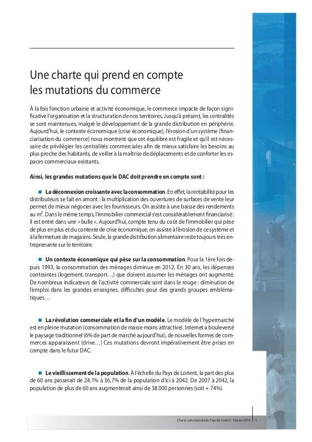 La charte commerciale du pays de lorient for Chambre commerciale 13 novembre 2013