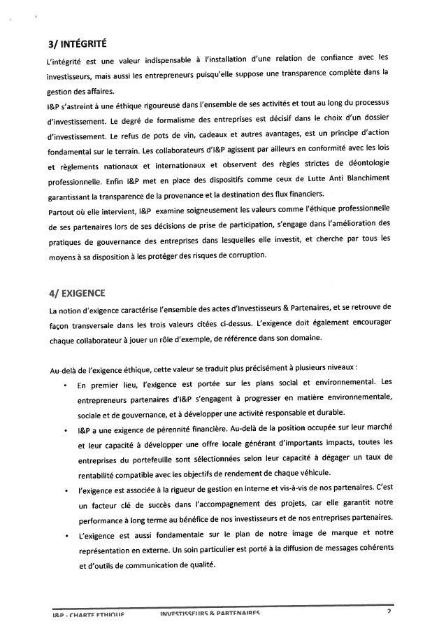 Charte ethique (signée) Slide 3