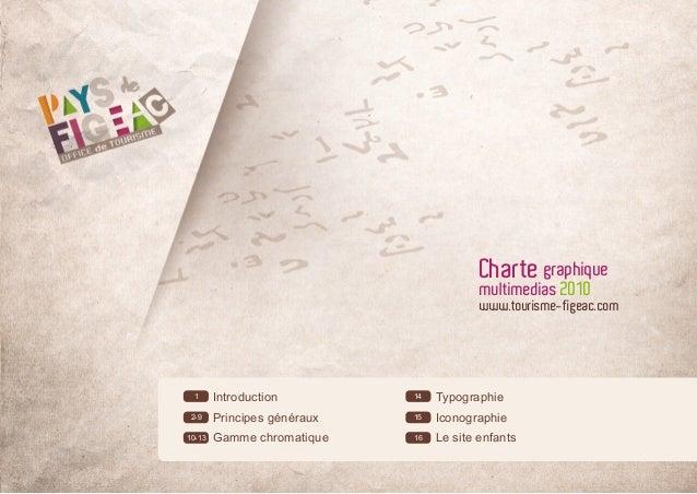 Charte graphique                                          multimedias 2010                                          www.to...