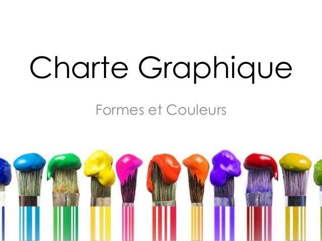 Charte Graphique Formes et Couleurs