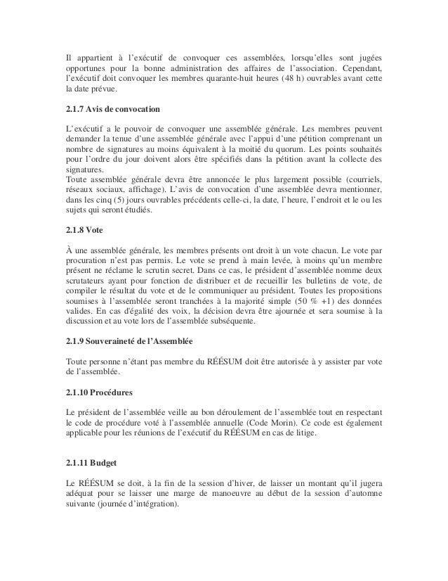 Charte officielle du réésum (refonte 2013) Slide 3