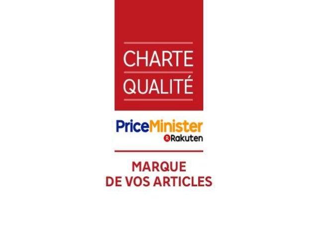 Charte qualité marque de vos articles