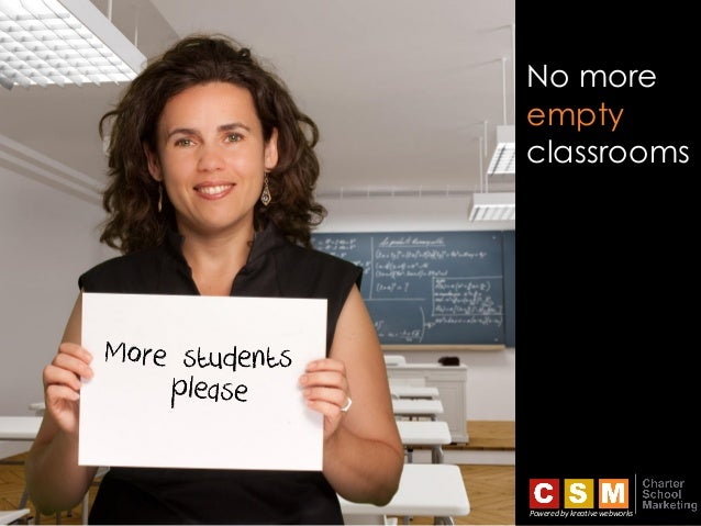 No more empty classrooms Powered by kreative webworks