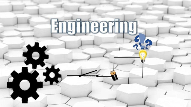 Engineering is about solving problems in the simplest and most cost effective way possible. What is ENGINEERING about?