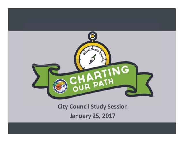 City Council Study Session January 25, 2017