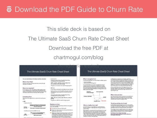 A Guide to SaaS Churn Rate Slide 2