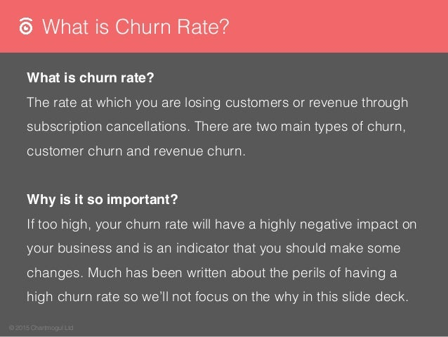A Guide to SaaS Churn Rate Slide 3