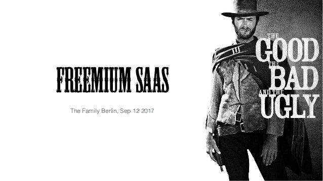 FreemiumSaaS The Family Berlin, Sep 12 2017