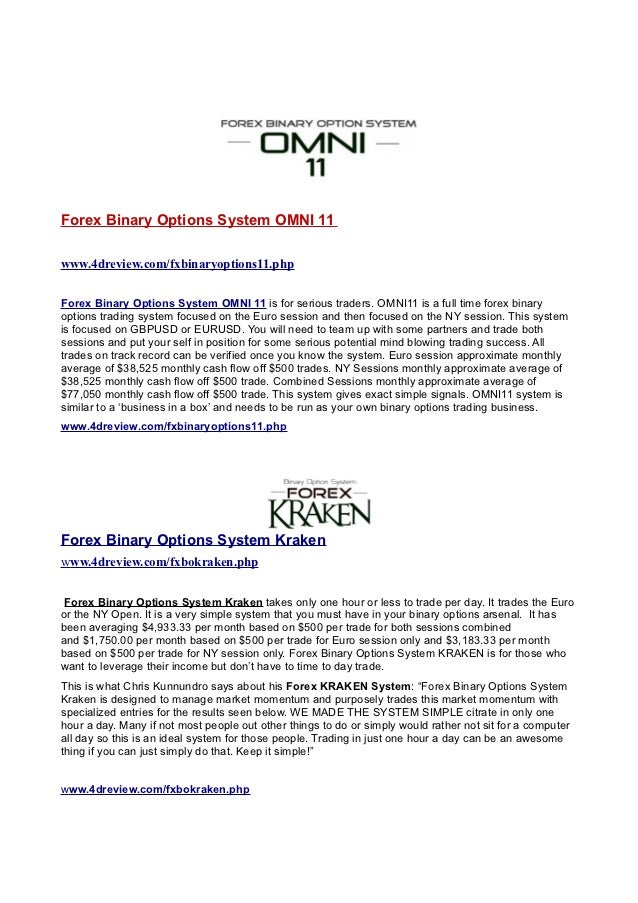 Omni 11 binary options review options trading binary