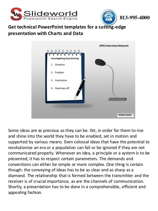 Get Technical Powerpoint Templates For A Cutting Edge Presentation Wi
