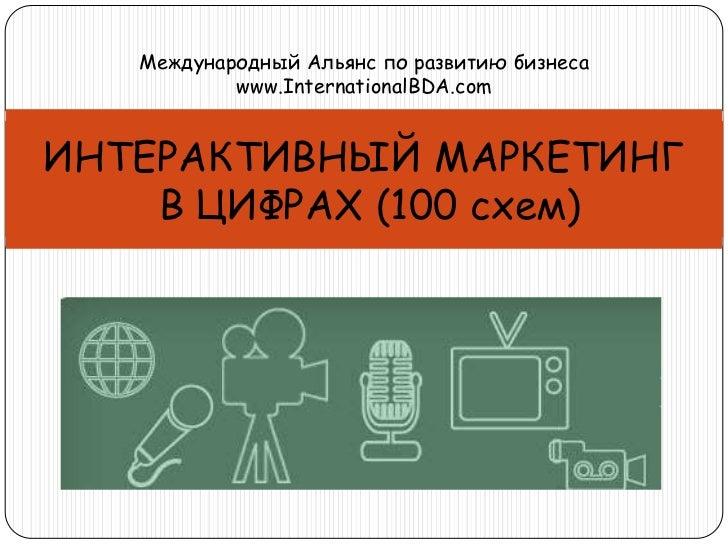 Международный Альянс по развитию бизнеса           www.InternationalBDA.comИНТЕРАКТИВНЫЙ МАРКЕТИНГ    В ЦИФРАХ (100 схем)