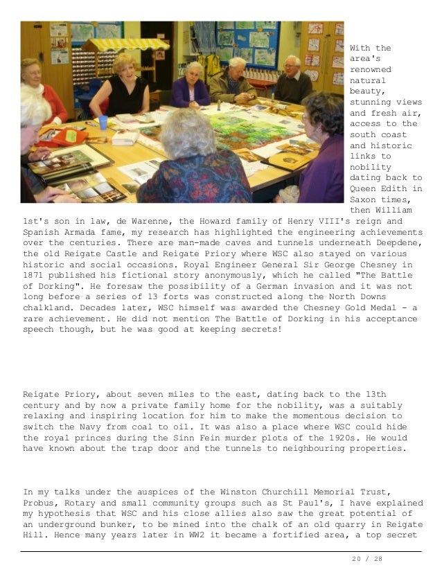 Chartwell Bulletin #34 APR 2011