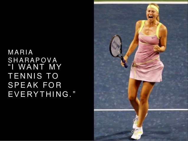 Maria Sharapova Quotes With Images: Tennis Quotes