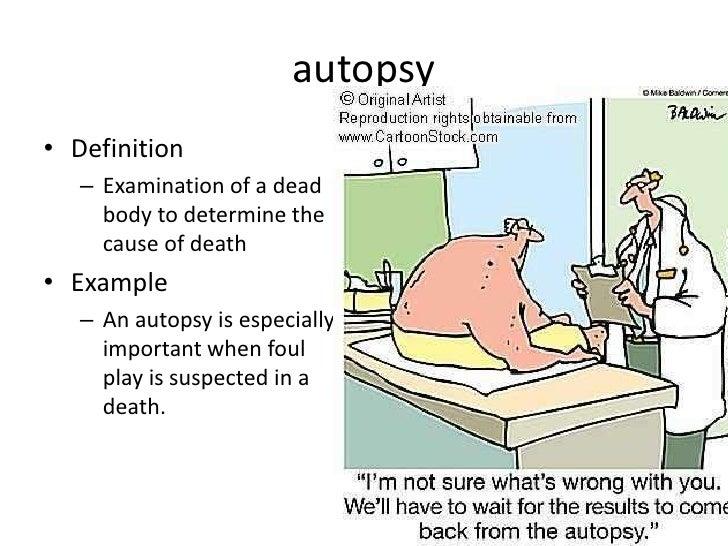 AUTOPSY DEFINITION EBOOK DOWNLOAD