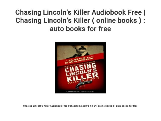chasing lincolns killer book