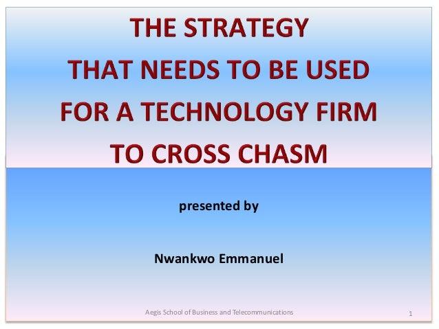 presented by Nwankwo Emmanuel Aegis School of Business and Telecommunications 1