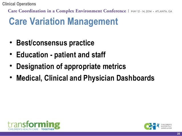 Operationalizing Clinical Excellence: Lessons Learned