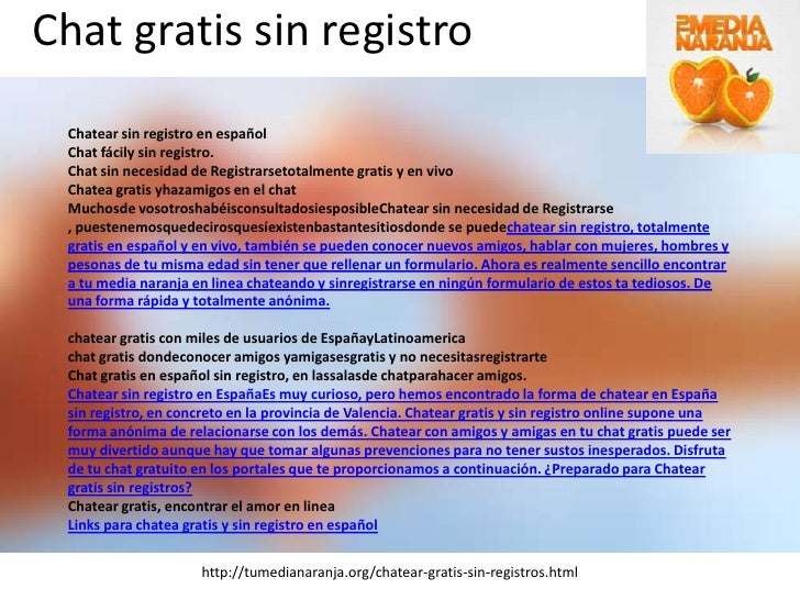 chat en espanol sin registro