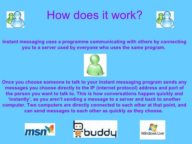 Instant Message Chat : Chat and instant messaging