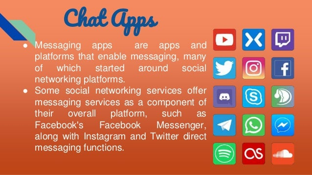 Chat application android app ppt