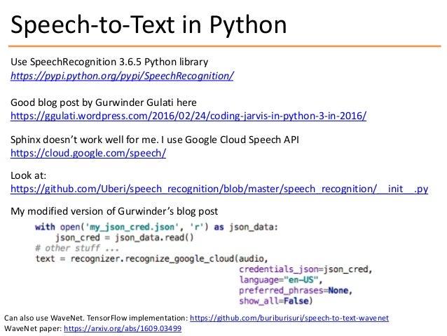 Voice Chatbot Python