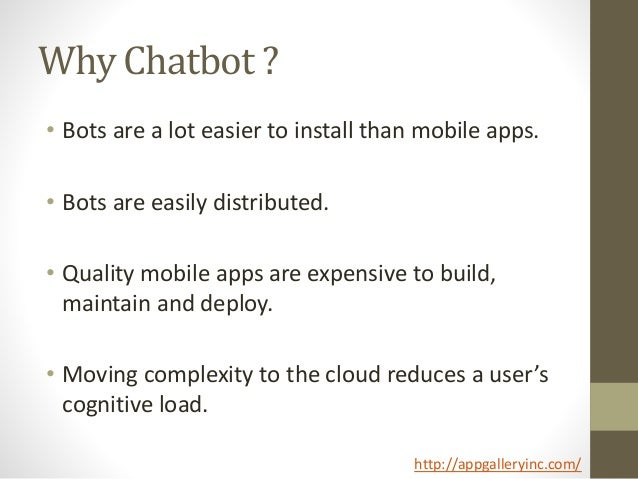Chatbot ppt Slide 3