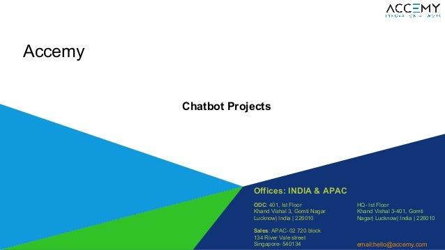 Offices: INDIA & APAC ODC: 401, Ist Floor Khand Vishal 3, Gomti Nagar Lucknow  India   226010 Sales: APAC- 02 720 block 13...