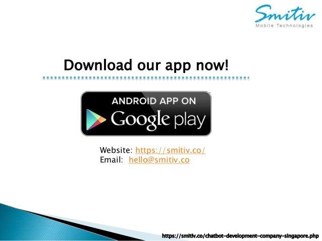 Chatbot development company | Top Chatbot Builder | Smitiv