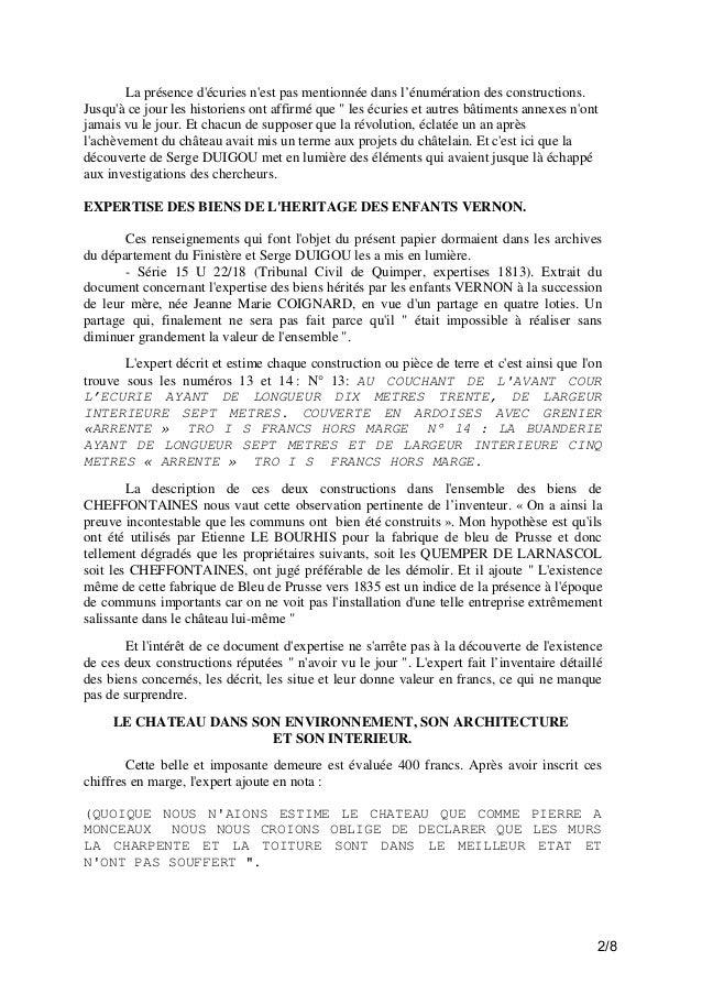Chateau &  seignerie de Fouesnant i3jf0j Slide 2