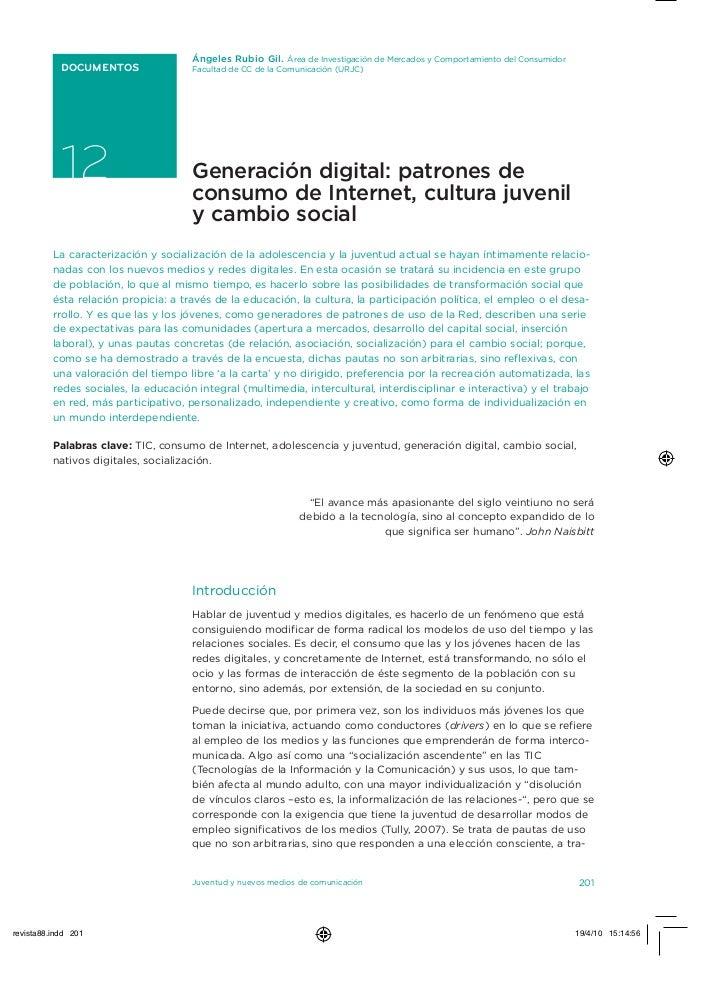 Ángeles Rubio Gil. Área de investigación de Mercados y Comportamiento del Consumidor DOCUMENTOS                 Facultad d...