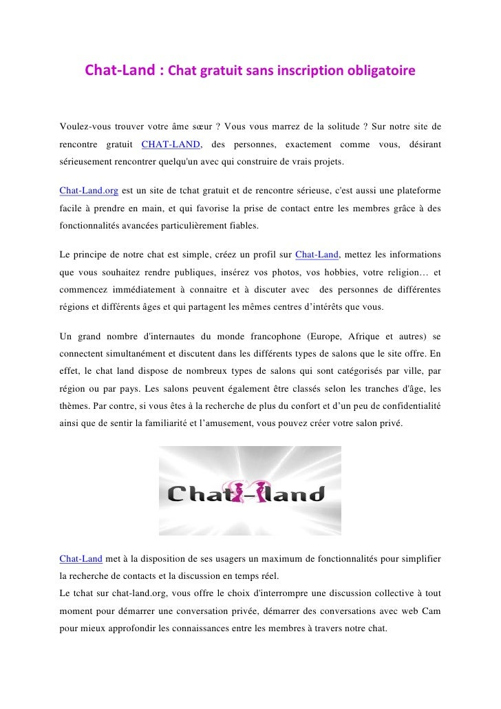Site chat rencontre