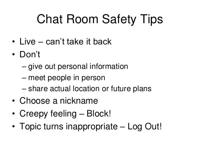 Dating tips chat room