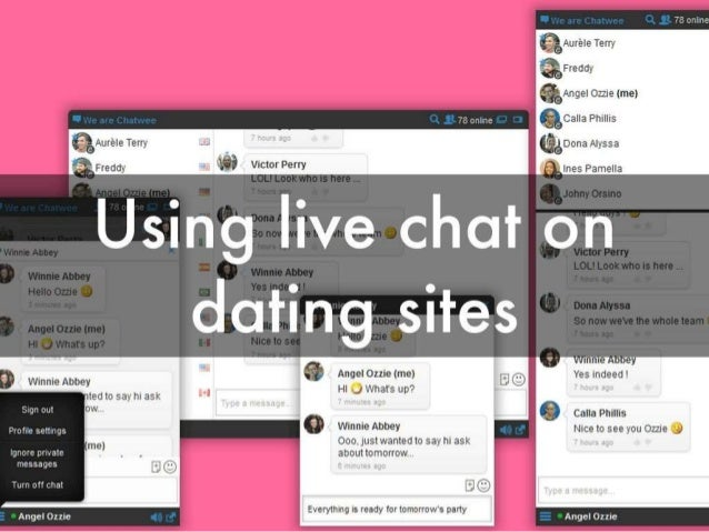 Goede opening online dating
