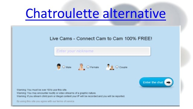 Chatroulette alternatives for adults