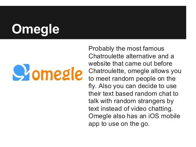 Omegle random chat alternative chat sites omegle alternatives