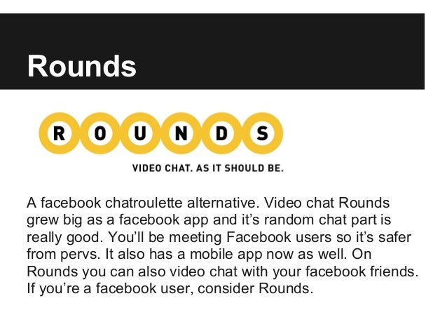 List of the best 10 Chatroulette alternatives