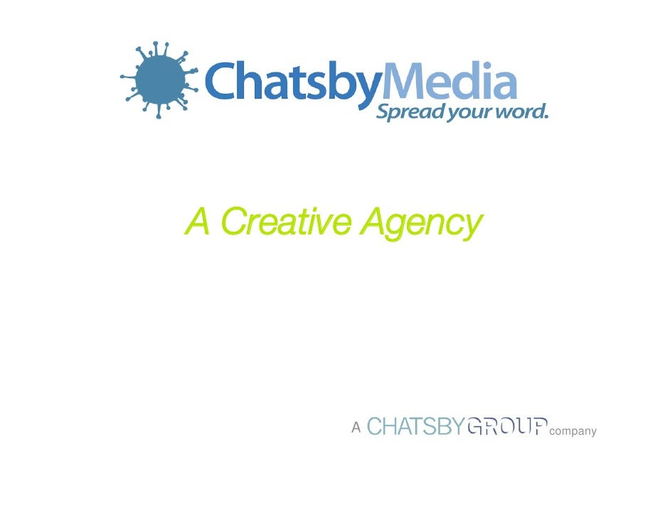 A Creative Agency              A          company