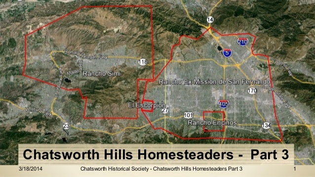 Chatsworth Homesteaders Part 3 California