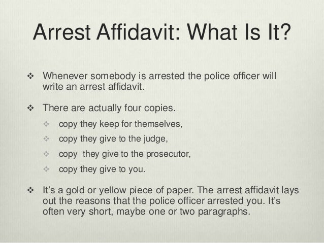 Arrest affidavits in florida arrest thecheapjerseys Images