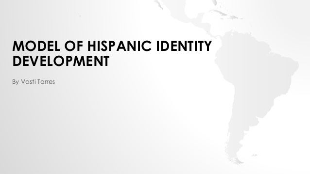 development of the american identity between A pearson correlation was used to determine the relationship between racial identity and internalized racism as as hypothesized, there was a significant correlation between internalized racism and pre-encounter racial identity (r .