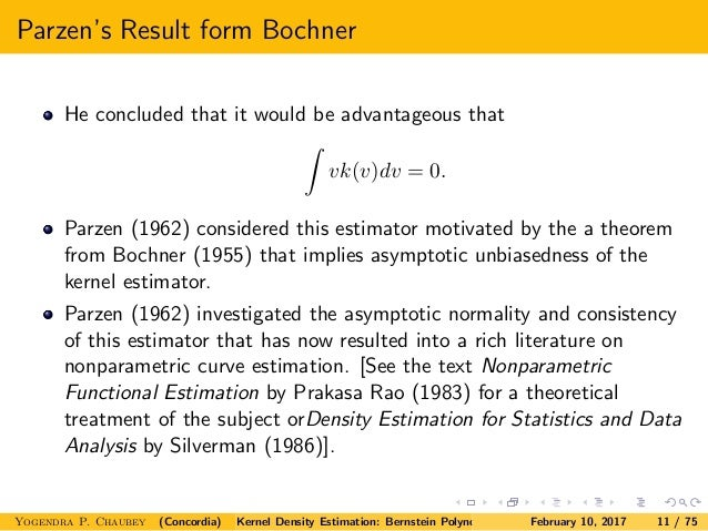 Nonparametric Functional Estimation