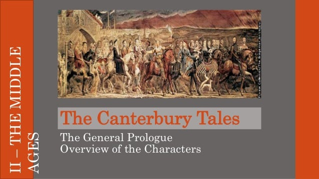 Chaucer's Canterbury Tales - General Prologue and Characters Overview