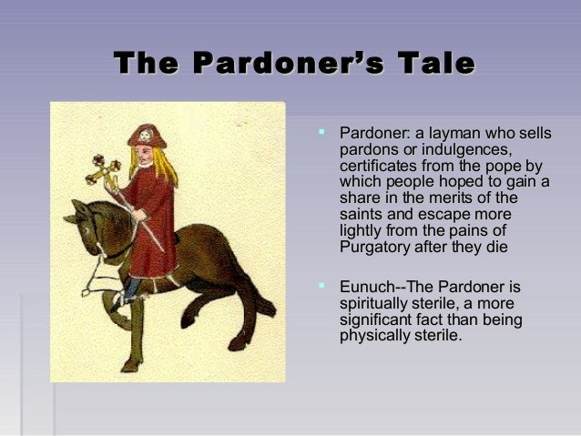 an analysis of the character of the pardoner in the canterbury tales by geoffrey chaucer Canterbury tales questions including when did chaucer write the canterbury tales and how did geoffrey chaucer influence and of bath and the pardoner characters.