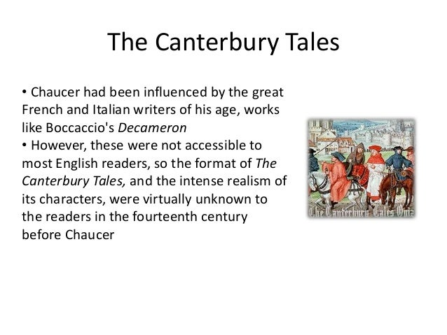 an introduction to chaucers view on the church in the canterbury tales Geoffrey chaucer likely wrote the canterbury tales in the late 1380s and early   in the medieval church, but which basically became a collection of stereotypes.