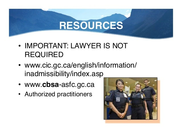 """RESOURCES—Sportsman Lawyers! """"In all my years here that's the best prepared packet I've ever seen""""! -Canada Border Officer..."""