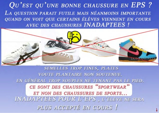 Chaussure eps-site