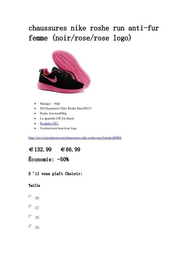 anti chaussures run nike roshe noir rose femme rose fur 8knPXw0O